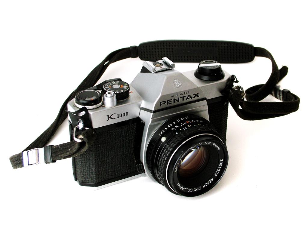5 zrkadloviek na 35mm film - pentax k1000
