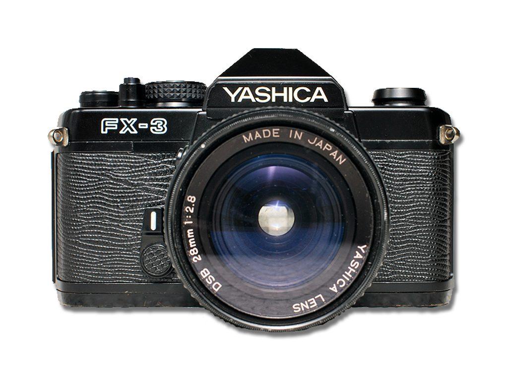 5 zrkadloviek na 35mm film - yashica fx-3