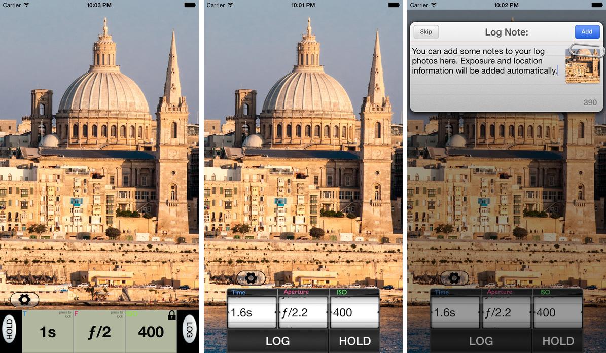 expozimeter pocket light meter na tvoj iphone