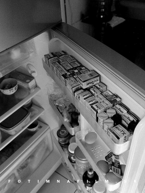 Skladovanie filmu v chladničke
