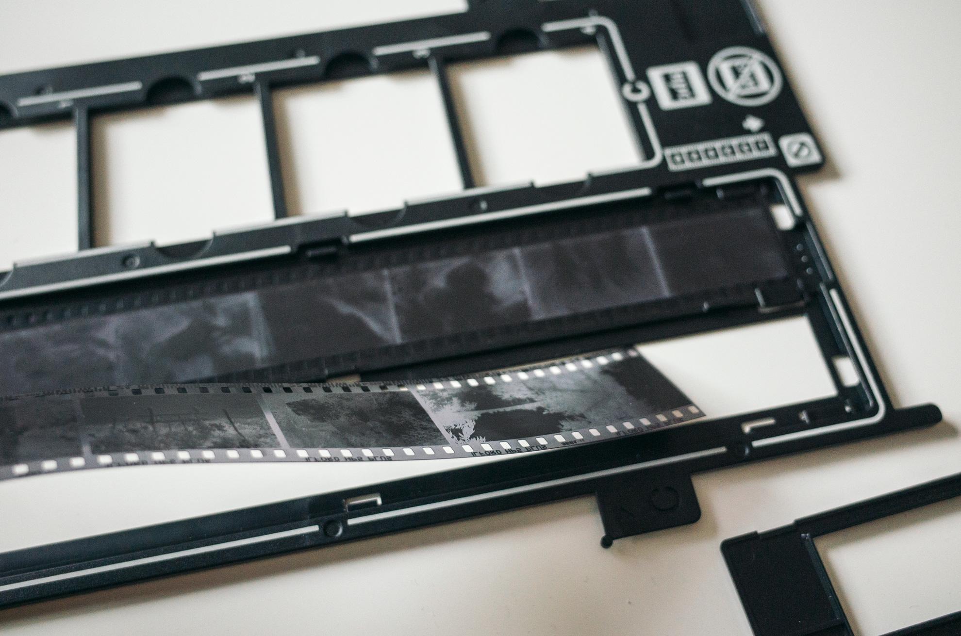 skenovanie 35mm čiernobieleho filmu