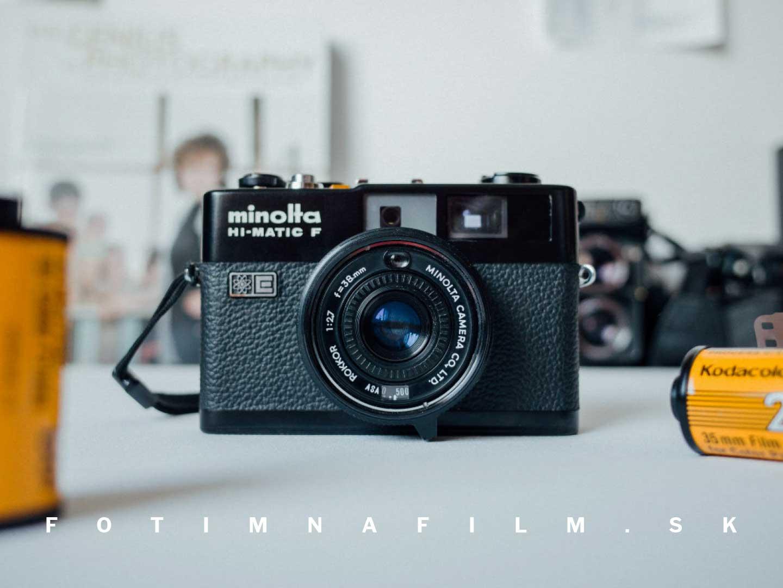 Fotoaparát Minolta Hi-Matic F