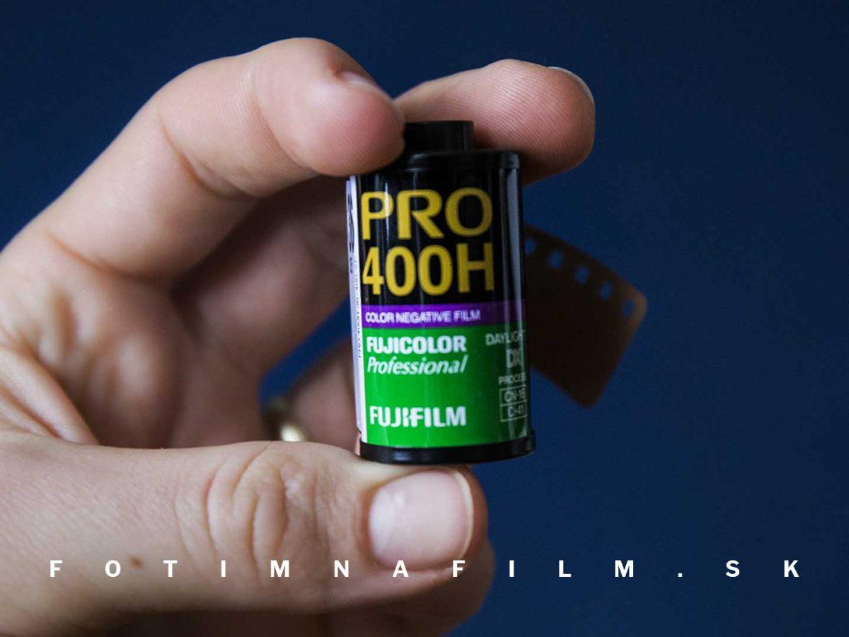 Recenzia farebného filmu Fujifilm Pro 400H