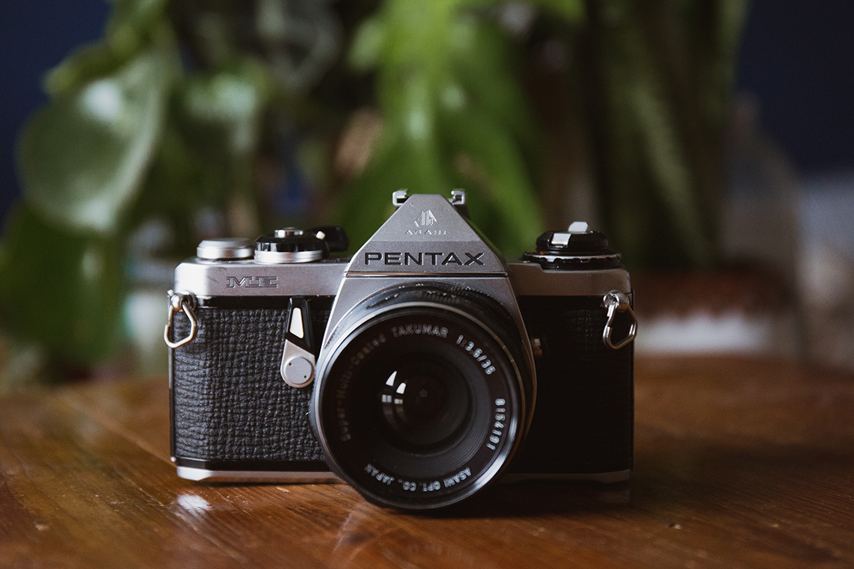 pentax me fotimnafilm slr film camera