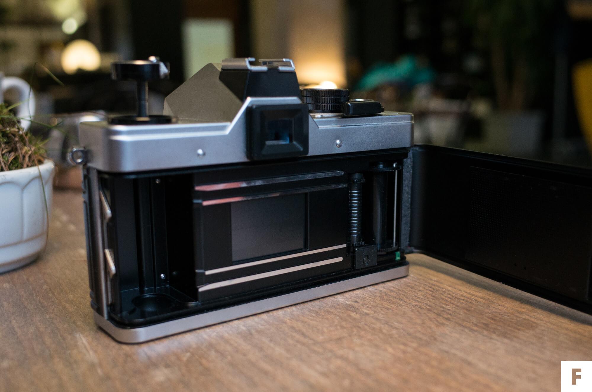 začiatočnícka zrkadlovka na film Praktica MTL5B, Fotímnafilm.sk recenzia