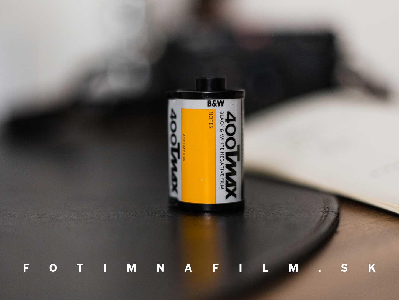 Čiernobiely film Kodak T-Max 400